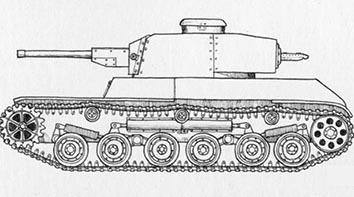 試製五式軽戦車 ケホ
