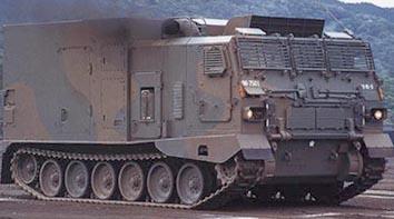 63A式水陸両用軽戦車/99式水陸...