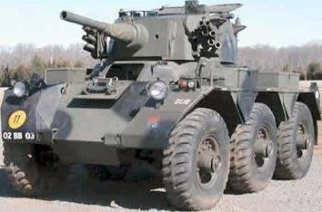 FV601サラディン戦闘偵察車