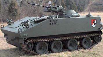 M114装甲偵察車