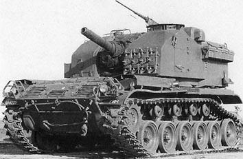 M52 105mm自走榴弾砲